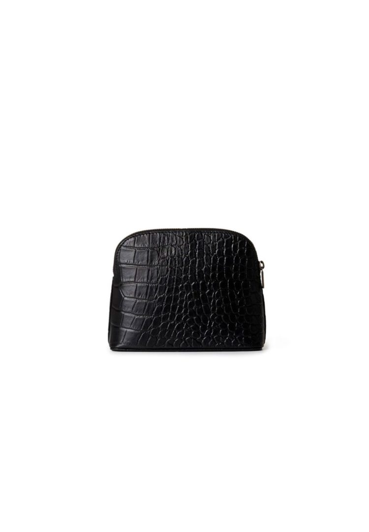 Cosmetic Pouch Black Croco o my bag