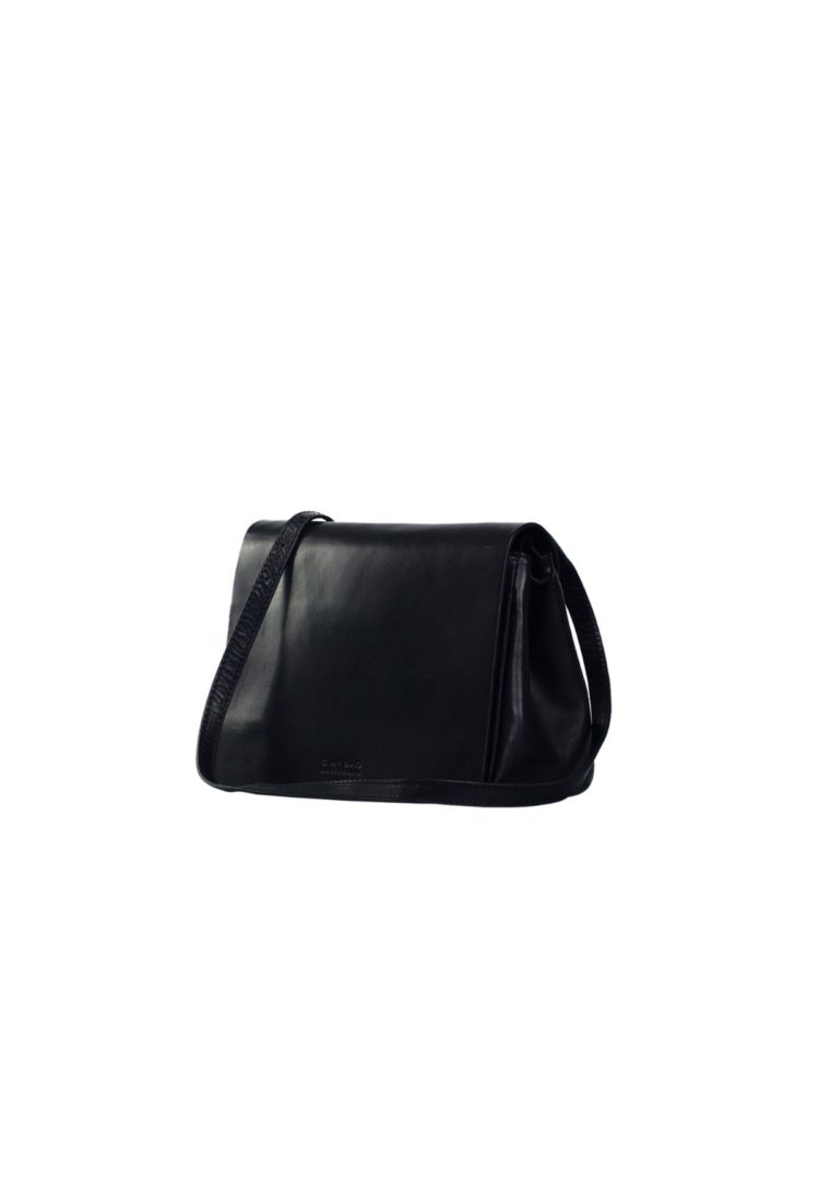 Lucy Crossbody Bag Black Classic Leather