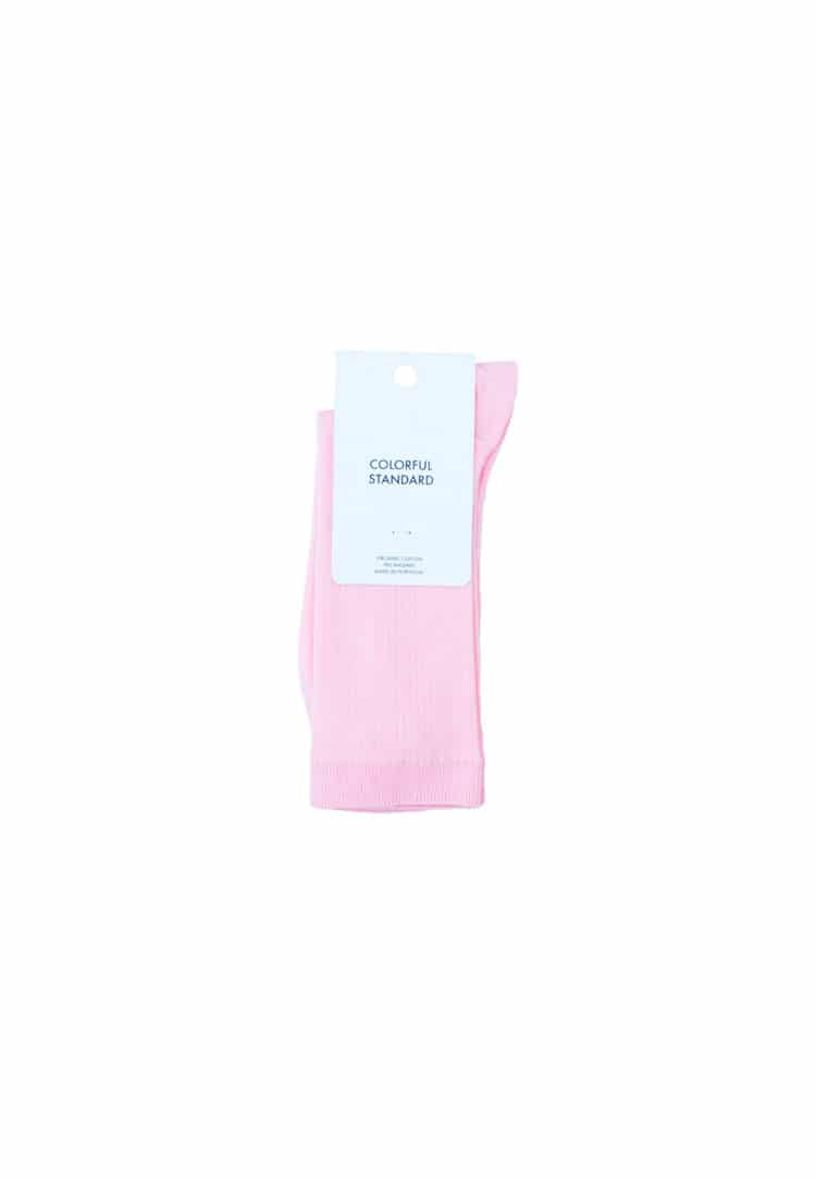 Colorful Standard Socks Faded Pink