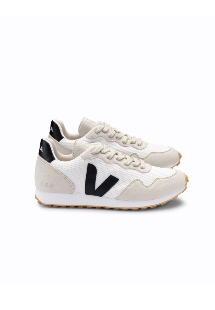 SDU White Black natural sneaker Vera