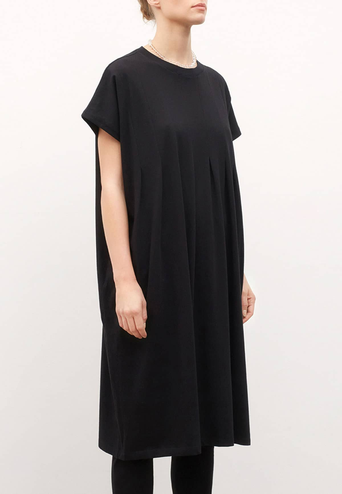 Kowtow Folding Dress Black